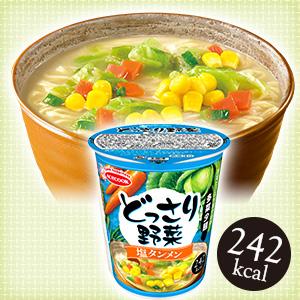 どっさり野菜 塩タンメン12食 ケース販売