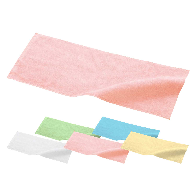 【Printstar】フェイスタオル ヘム縫製有り [00522-FT]