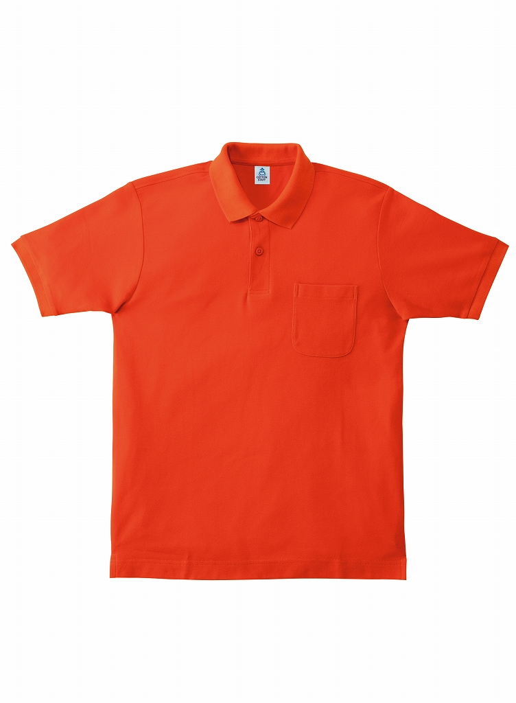 【Lifemax】ポケット付 CVC鹿の子ドライポロシャツ [MS3114]
