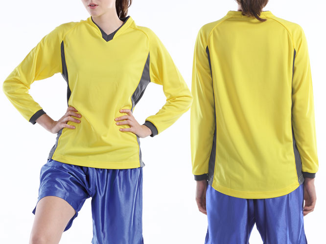 【Wundou】 ベーシックロングスリーブサッカーシャツ #P1930