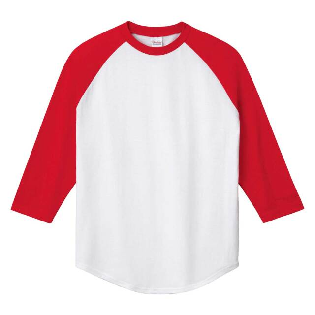 【Printstar】(5.6oz)ラグランベースボールTシャツ [00138-RBB]