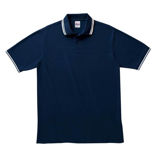 【Printstar】(5.8oz)ベーシックラインポロシャツ [00191-BLP]