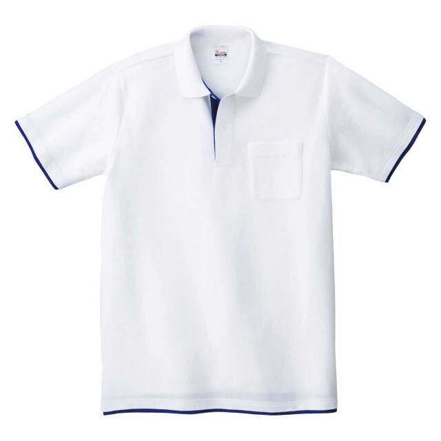 【Printstar】(5.8oz)ベーシックレイヤードポロシャツ [00195-BYP]