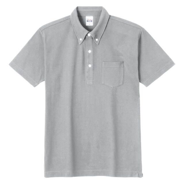 【Printstar】(5.3oz)スタンダード B/Dポロシャツ(ポケット付き) [00225-SBP]