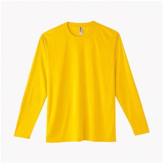 【Printstar】3.5オンス インターロック ドライ長袖Tシャツ #00352