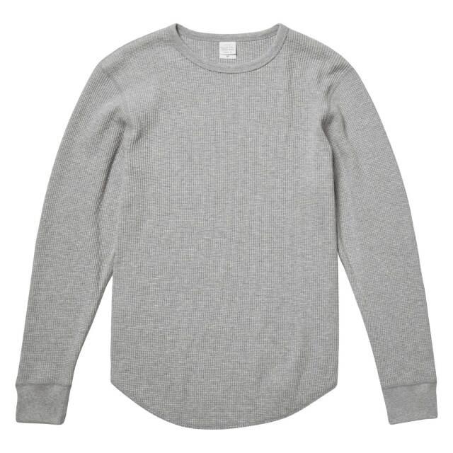 【UnitedAthle】(10.3oz) ヘヴィーウェイト ワッフル ロングスリーブ Tシャツ [3960]