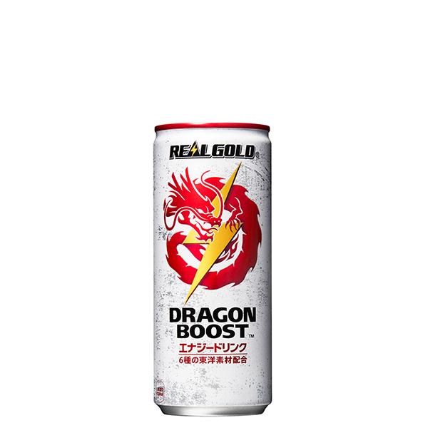 [メーカー直送]【3ケースセット】リアルゴールド ドラゴンブースト 250ml缶