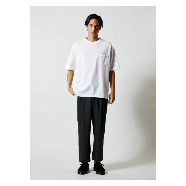 【UnitedAthle】(5.6oz) ビッグシルエット Tシャツ(ポケット付) [5008]