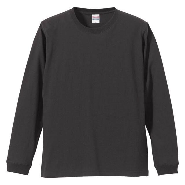 【UnitedAthle】(5.6oz)ロングスリーブ Tシャツ(1.6インチリブ) [5011]