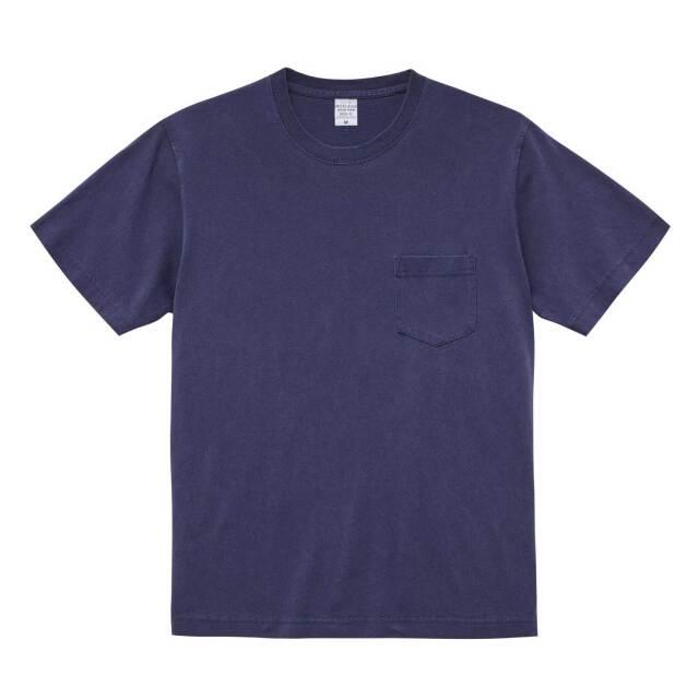 【UnitedAthle】(5.6oz) ピグメントダイ Tシャツ(ポケット付) [5029]