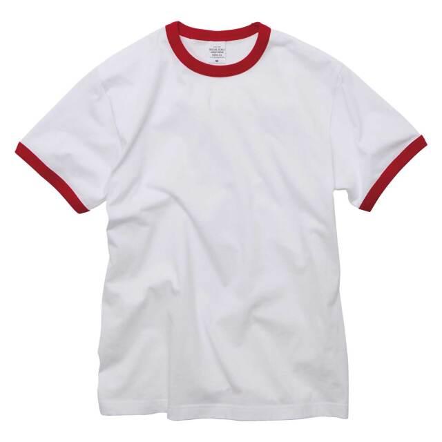 【UnitedAthle】(5.6oz) リンガー Tシャツ [5030]