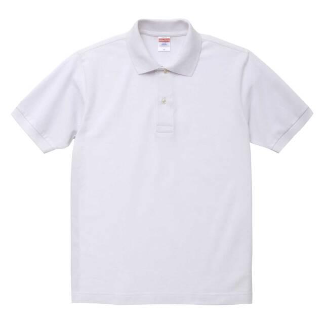 【UnitedAthle】(6.0oz)ヘヴィーウェイト コットン ポロシャツ [5543]
