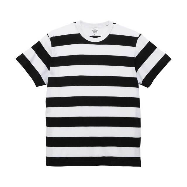 【UnitedAthle】(5.6oz) ボーダー Tシャツ [5625]