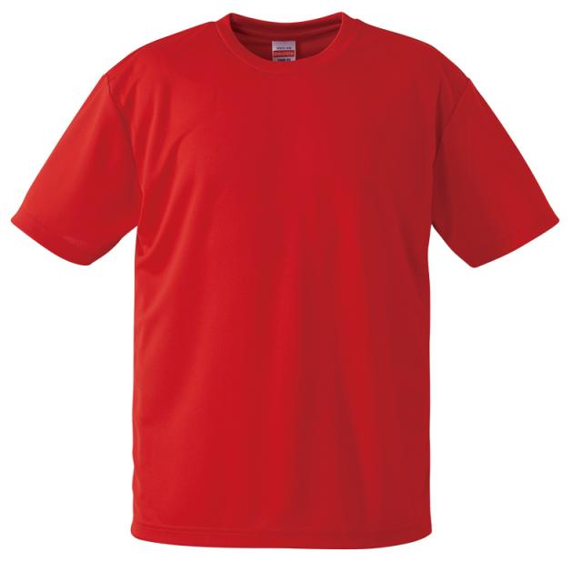 【UnitedAthle】 (4.1oz) ドライアスレチック Tシャツ (アダルト) S-XL [5900]