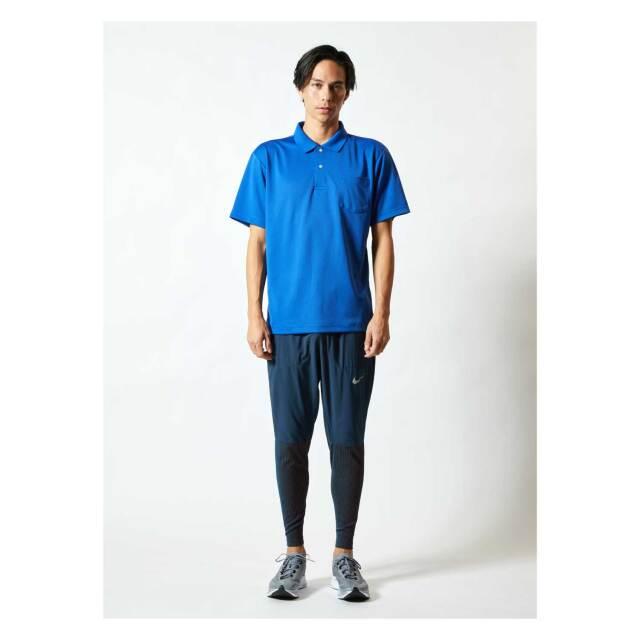 【UnitedAthle】(4.1oz)ドライアスレチック ポロシャツ(ポケット付) [5912]