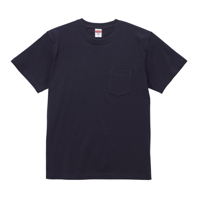 【UnitedAthle】5.6オンス ハイクオリティー Tシャツ(ポケット付) S-XL[5006]