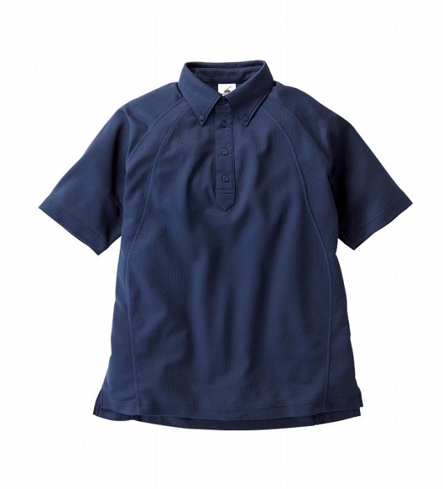 【TRUSS】ボタンダウン ポロシャツ [BDP-262]
