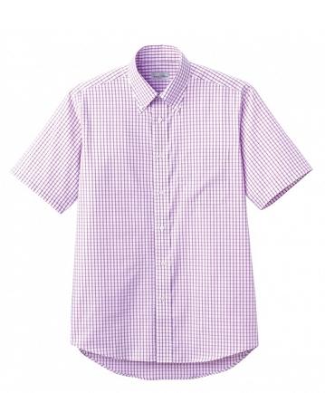 【NaturalSmile】チェックシャツ半袖  FB4507U