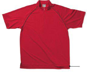 【Lifemax】 クールジップポロシャツ MS313
