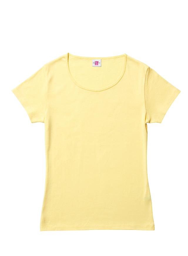 【Lifemax】 (5.6oz) レディースクルーネックTシャツ [MSL5003]