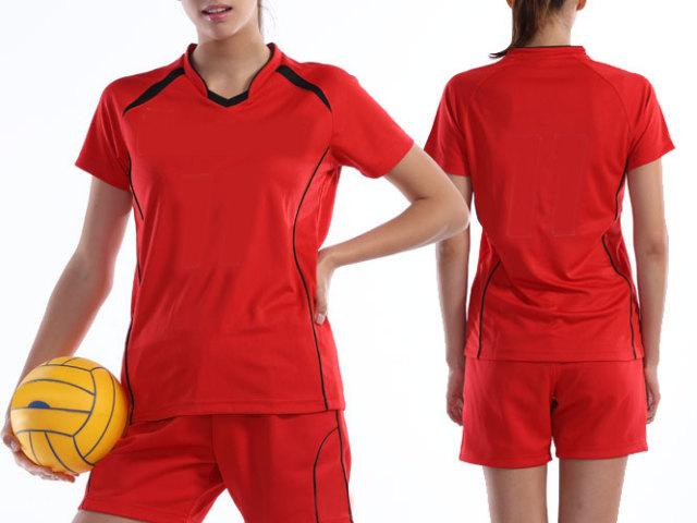 【Wundou】 ウィメンズバレーボールシャツ #P1620