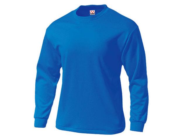 【Wundou】 タフドライ長袖Tシャツ #P175