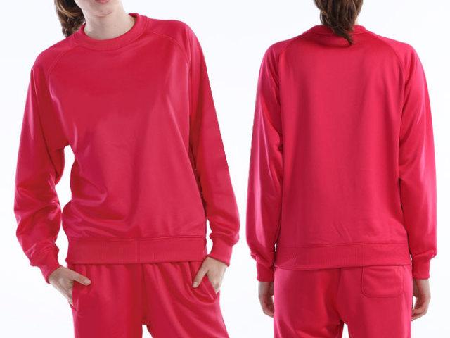 【Wundou】 ドライスウェットラグランシャツ #P3000