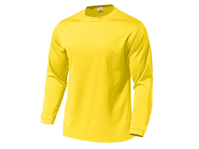 【Wundou】 ドライライト長袖Tシャツ #P350