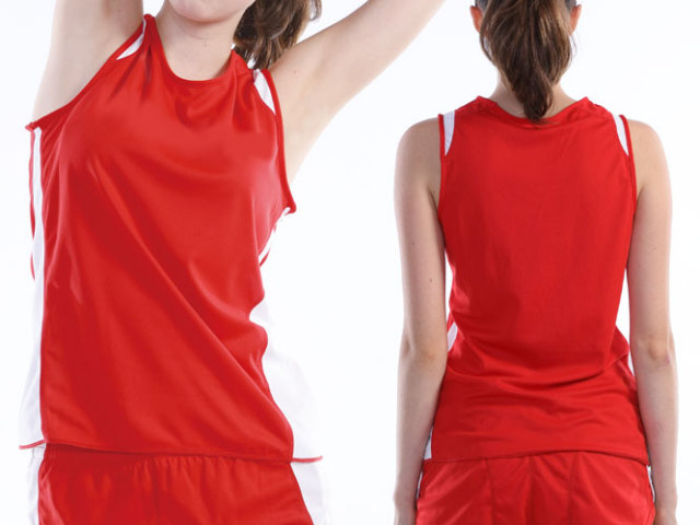 【Wundou】 ウィメンズランニングシャツ #P5520