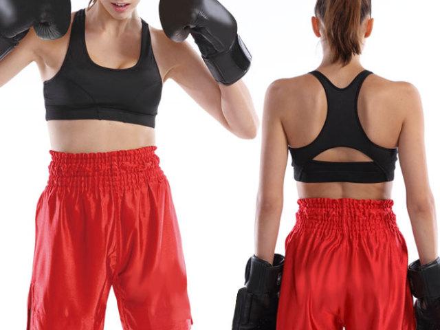 【Wundou】 トレーニングスポーツブラ #P97