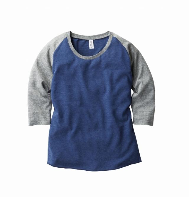 【TRUSS】トライブレンド ラグラン 7分袖Tシャツ [TQS-122]