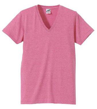 【UnitedAthle】 (4.4oz) トライブレンド Vネック Tシャツ [1098]