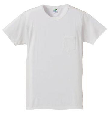 【UnitedAthle】 (4.4oz) トライブレンド Tシャツ (ポケット付) [1291]