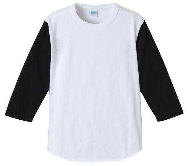 【UnitedAthle】7.1オンス ベースボール 3/4スリーブ Tシャツ [4256]