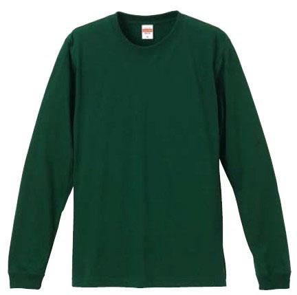 【UnitedAthle】5.6オンス ロングスリーブ Tシャツ (1.6インチリブ) XS-XL (カラー) [5011]