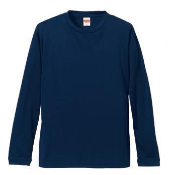 【UnitedAthle】4.7オンス ドライシルキータッチ ロングスリーブ Tシャツ S-XL [5089]