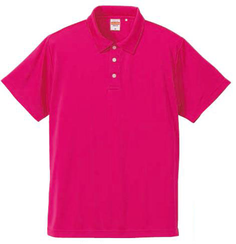 【UnitedAthle】 (4.7oz) ドライシルキータッチ ポロシャツ XS-XL [5090]