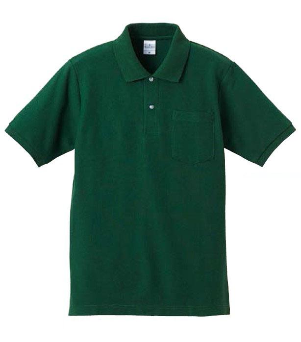 【UnitedAthle】6.2オンス ドライカノコ ハイブリッド ポロシャツ (ポケット付) XS-3L [5191]