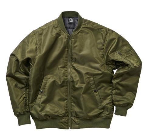 【UnitedAthle】タイプ MA-1ジャケット(中綿入)