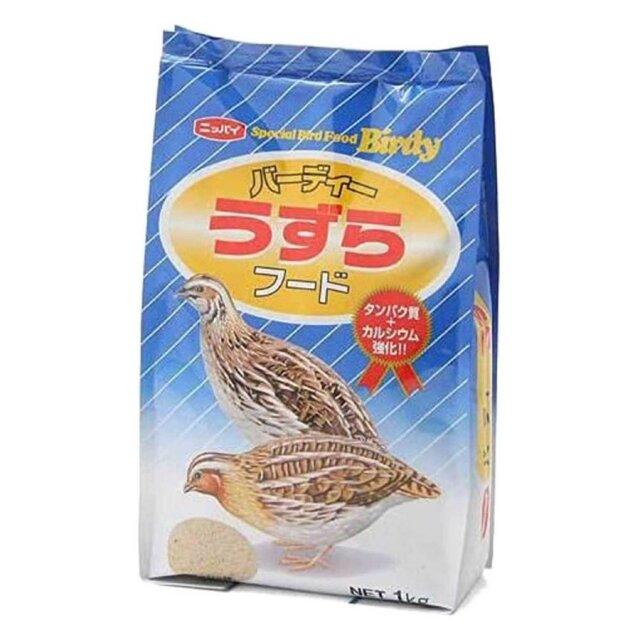 フィード・ワン バーディー うずらフード 1kg ウズラ えさ 鶉 飼育 餌 成鳥 ペット エサ 種 穀物