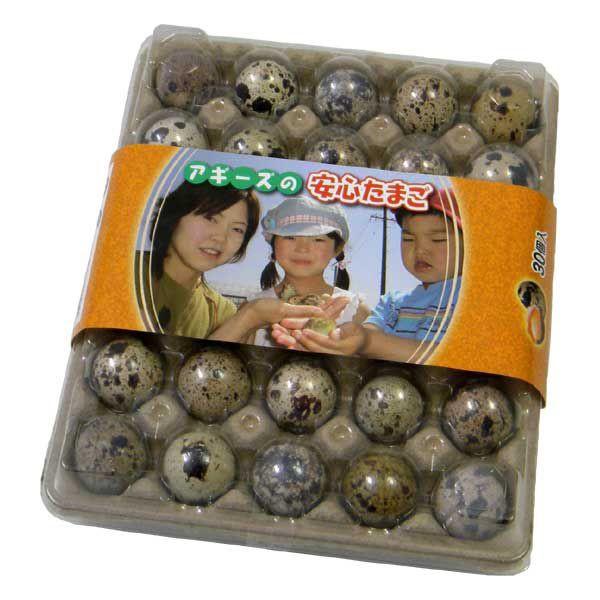 【豊橋名産】 生命のたまご うずらの卵 30個入り