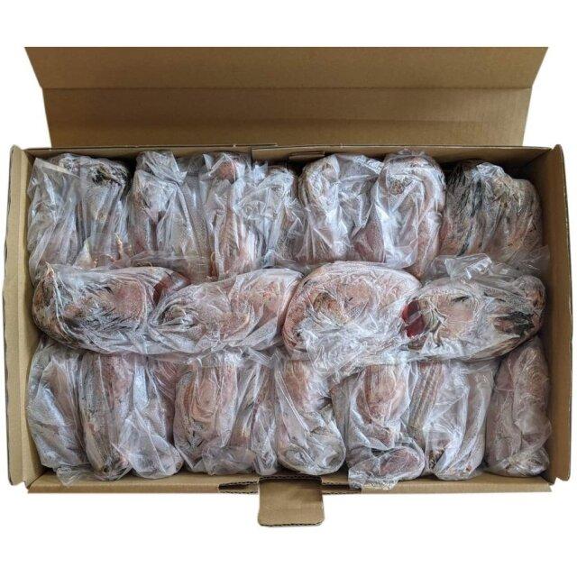 豊橋産 冷凍ウズラ 未処理 25羽1ケース 親ウズラ 猛禽類・爬虫類の餌に