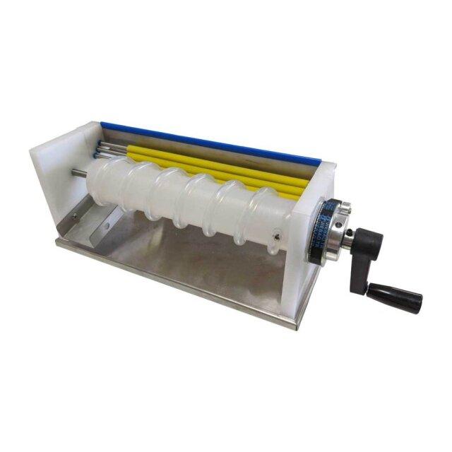 うずらの卵専用 手動式殻剥き機 本体部33x14cm(レバー部除く) クランプ付属