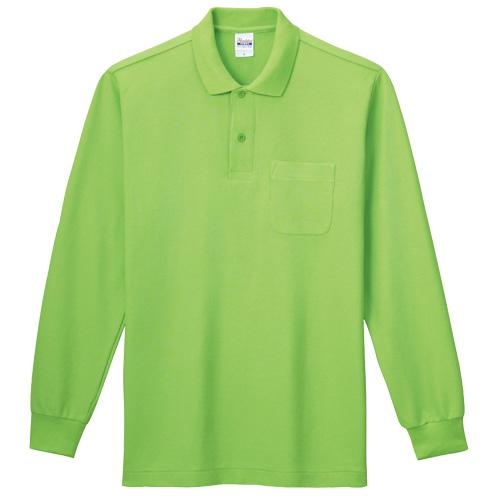 【Printstar】T/C長袖ポロシャツ(ポケット付) [00169-VLP]