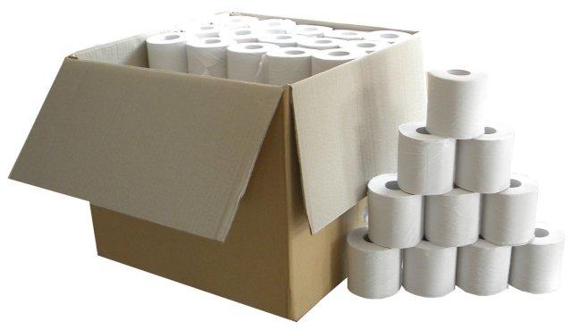 【送料別/訳あり】 (巾105mm以上/長さ約50mm) アウトレット トイレットペーパー シングル 100個セット (ホワイト)