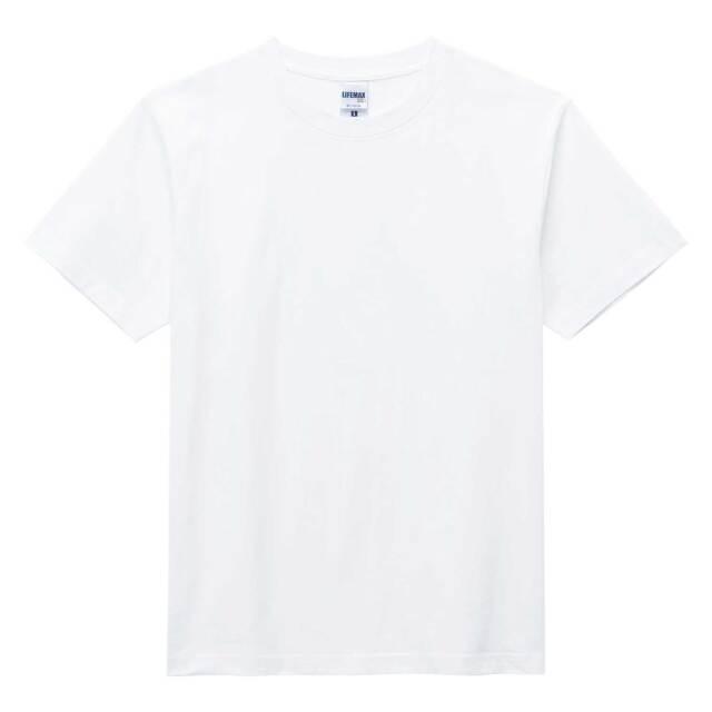 【LIFEMAX】ヘビーウェイトTシャツ(ホワイト)  [MS1148]