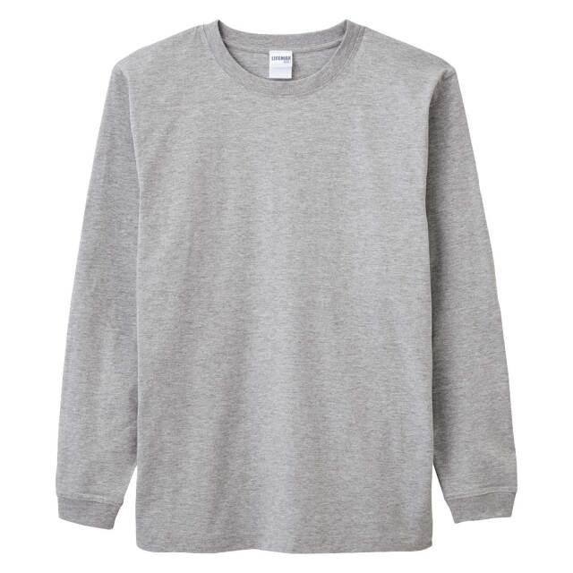【LIFEMAX】ヘビーウェイトロングスリーブTシャツ(カラー)  [MS1607]