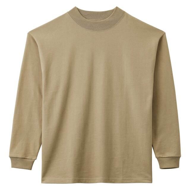 【LIFEMAX】10.2オンススーパーヘビーウェイトモックネックTシャツ  [MS1610]