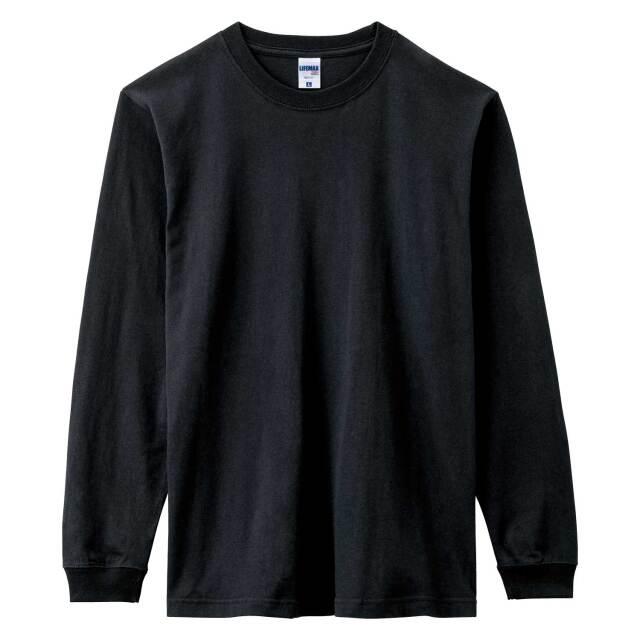 【LIFEMAX】6.2オンスヘビーウエイトロングスリーブTシャツ(ポリジン加工)  [MS1611]