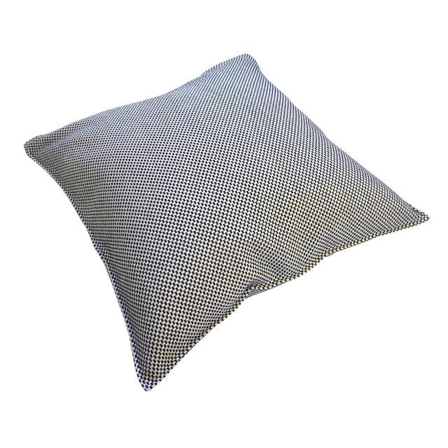 【東三河織物】 刺し子 クッションカバー 45x45cm 綿100% (一重刺し子) #SK-012